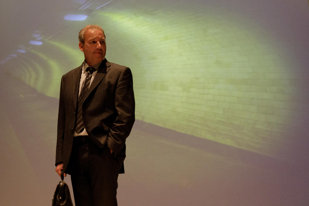 Photograph from 10 x 10 The Sixth Biennial New Writing Festival - lighting design by Peter Vincent