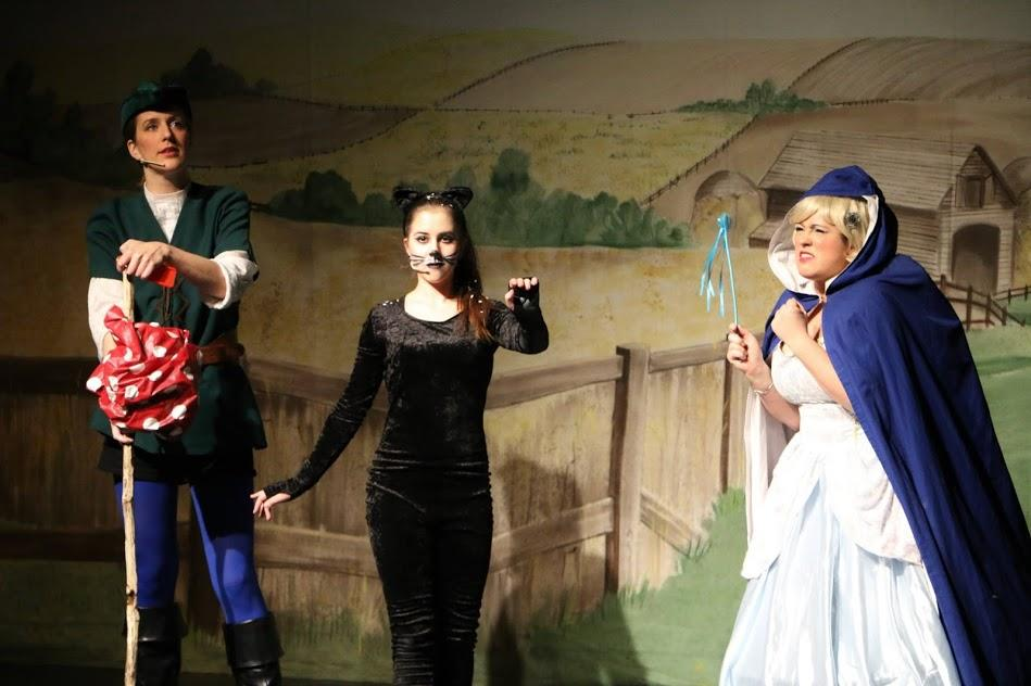 Photograph from Dick Whittington and His Magical Cat - lighting design by Ant-Lux