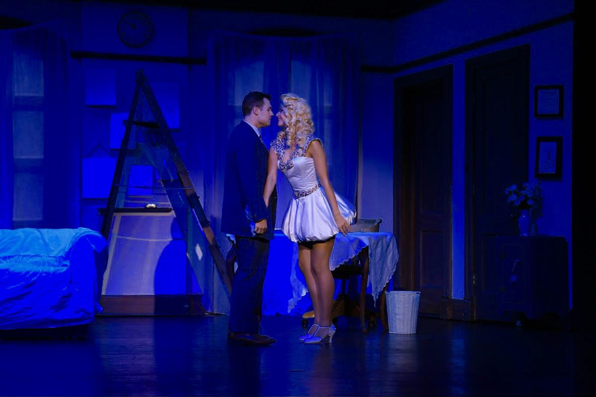 Photograph from The Producers - lighting design by Charlie Morgan Jones
