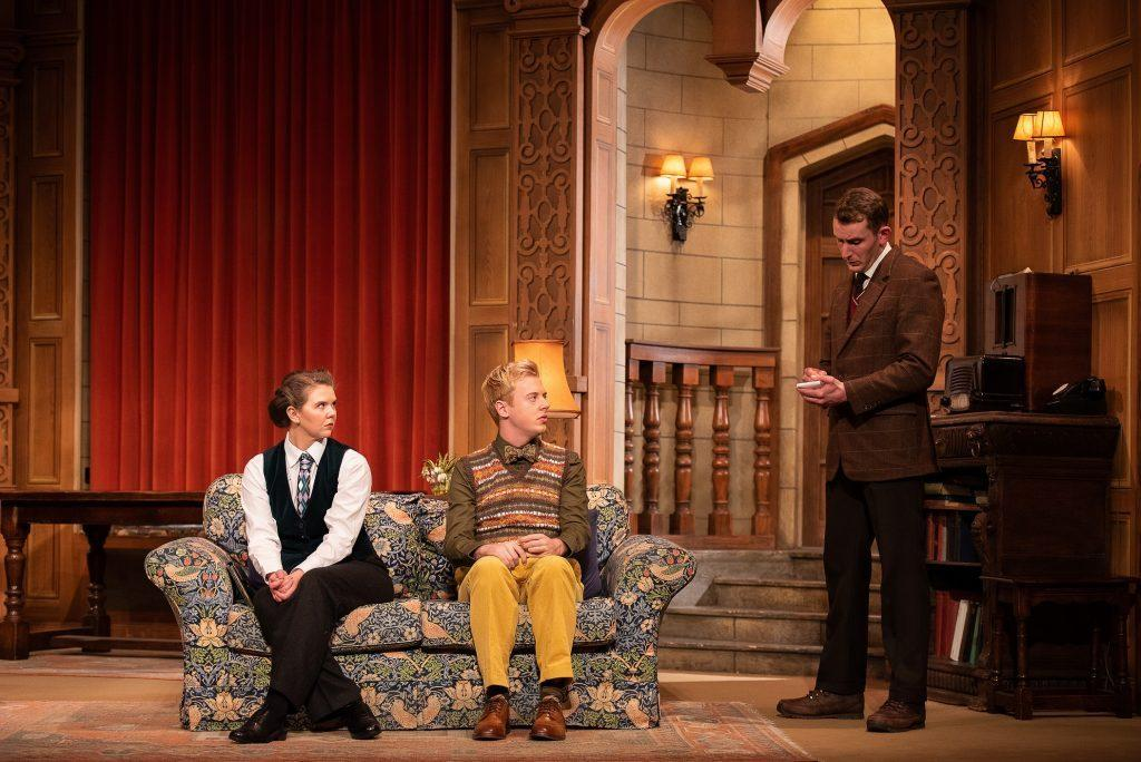 Photograph from The Mousetrap - lighting design by Garry Hoare