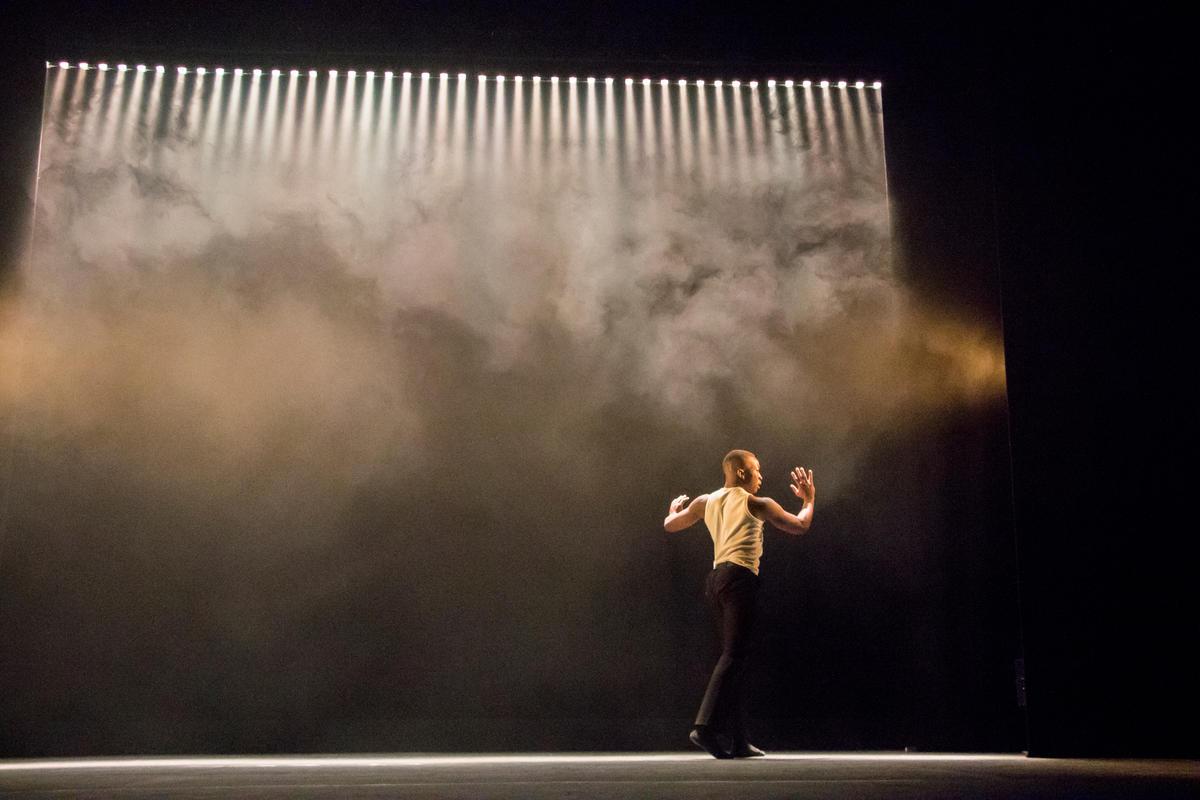 Photograph from Salt (RADA & RAMBERT Dance Project) - lighting design by JacobGowler