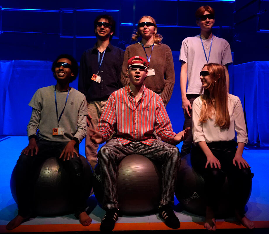 Photograph from The Antipodes - lighting design by edfrearson