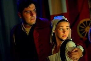 Photograph from A Wife or the Gallows - lighting design by Louise Gregory