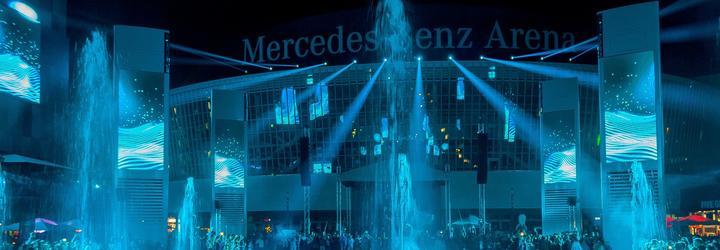 Mercedes-Platz Opening with Proteus