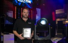 John Dunn with Artiste Picasso WFX Award