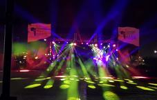 Elation rig at the Soweto International Jazz Festival
