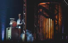 Robe lights on Sweeney Todd in Estonia