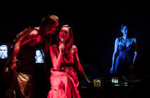 Photograph from DOMESTICA - lighting design by Alex Fernandes