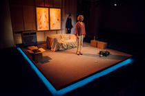 Photograph from Vincent River - lighting design by Marty Langthorne