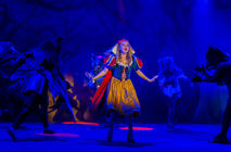 Photograph from Snow White & the Seven Dwarfs - lighting design by JimmiRichardson