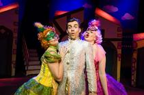 Photograph from Cinderella - lighting design by James McFetridge