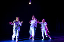 Photograph from WE ARE IAN - lighting design by EllieBookham