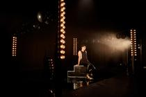 Photograph from TORCH - lighting design by Zoe Spurr