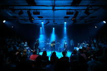 Photograph from ELECTROLYTE - lighting design by timothykelly