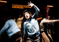 Photograph from After Hiroshima - lighting design by Marty Langthorne