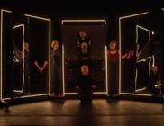 Photograph from The Disappearing Act - lighting design by Louise Gregory