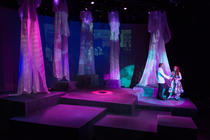 Photograph from ON THE VERGE - lighting design by Wally Eastland