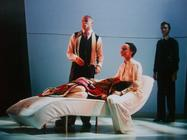 Photograph from Pains of Youth - lighting design by Marty Langthorne