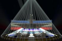 Photograph from WYWSIWYG - lighting design by Durham Marenghi