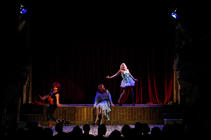 Photograph from Weekend at Wiltons - lighting design by Marty Langthorne