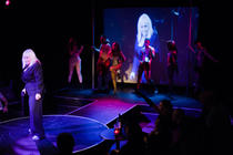 Photograph from Bitch! Dyke! Faghag! Whore! - lighting design by Marty Langthorne