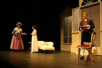 Photograph from The Rivals - lighting design by Peter Vincent