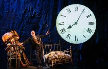 Photograph from Steptoe and Son - lighting design by Malcolm Rippeth