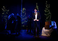 Photograph from A Chrismas Carol - lighting design by clancy