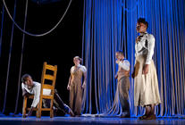 Photograph from Skewered Snails - lighting design by Simon Wilkinson