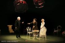 Photograph from The Importance of Being Earnest - lighting design by Andy Grange