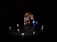 Photograph from Hampton :Memories of Suburbia - lighting design by Marty Langthorne