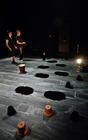 Photograph from So Below - lighting design by Marty Langthorne
