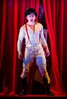 Photograph from Hamlet - lighting design by Steve Lowe