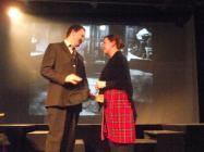 Photograph from The 39 Steps - lighting design by Michael Dobbs