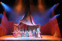 Photograph from Moses - lighting design by Michael Grundner