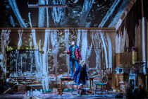 Photograph from Hansel and Gretel - lighting design by Matthew Haskins