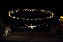 Photograph from Carousel - lighting design by Simon Wilkinson
