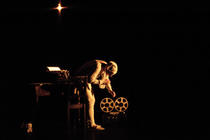Photograph from Blackouts, Twilight of the Idols - lighting design by Marty Langthorne