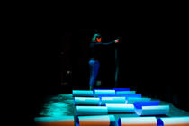 Photograph from A Duet Without You - lighting design by Marty Langthorne