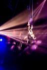 Photograph from Gandeys Your Circus Awakens - lighting design by Matt Ladkin