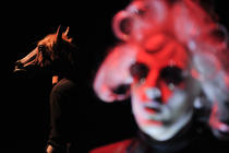 Photograph from Lost in Trans - lighting design by Marty Langthorne