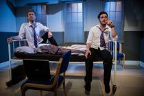 Photograph from Love and Money - lighting design by Catherine Webb
