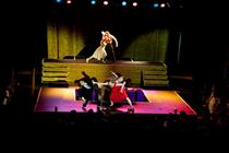 Photograph from Gateways - lighting design by Marty Langthorne