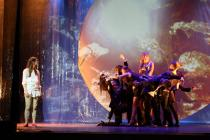 Photograph from Into The Woods - lighting design by Charlie Morgan Jones