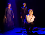 Photograph from Re-member Me - lighting design by Marty Langthorne