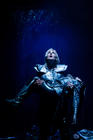 Photograph from Credible Likeable Superstar Rolemodel - lighting design by Marty Langthorne