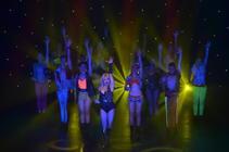 Photograph from The Ladyboys of Bangkok (Theatre Tour 2009-Present) - lighting design by Matt Ladkin