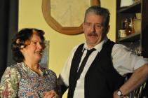 Photograph from 'Allo 'Allo - lighting design by Michael Dobbs