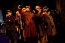 Photograph from Dialogues des Carmelites - lighting design by Charlie Morgan Jones