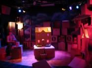 Photograph from Under One Roof - lighting design by Chris Barham